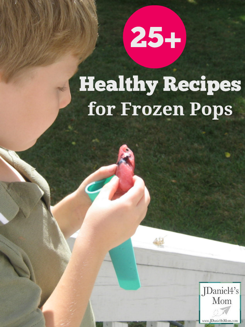 25+ Healthy Recipes for Frozen Pops