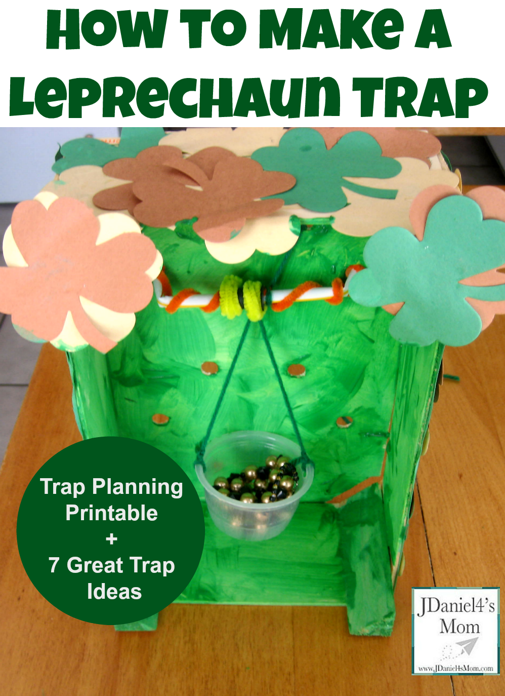 how to make a leprechaun trap with trap ideas