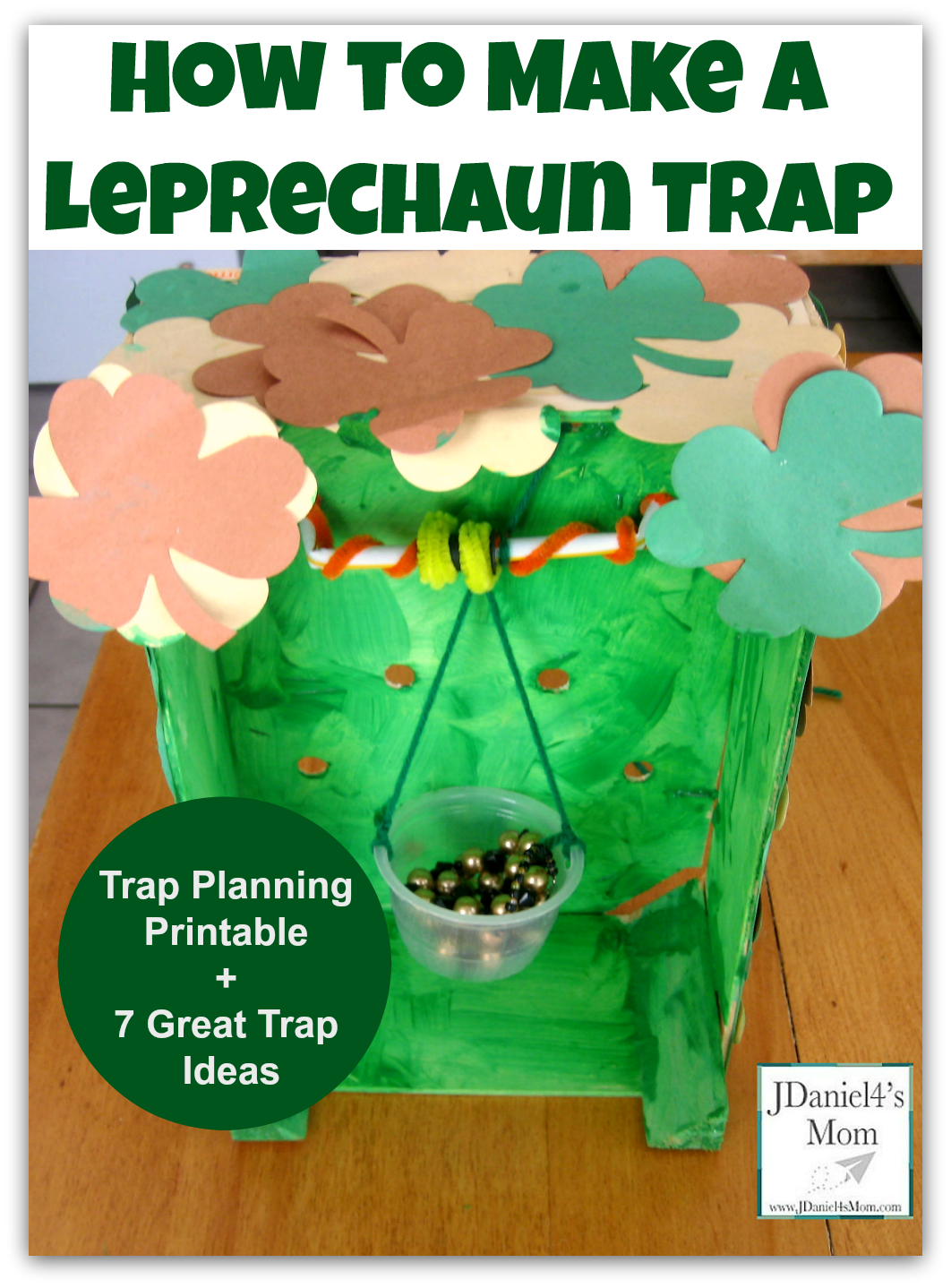 how to make a leprechaun trap with creation trap ideas