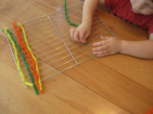 Kids Fun- Fine Motor Weaving
