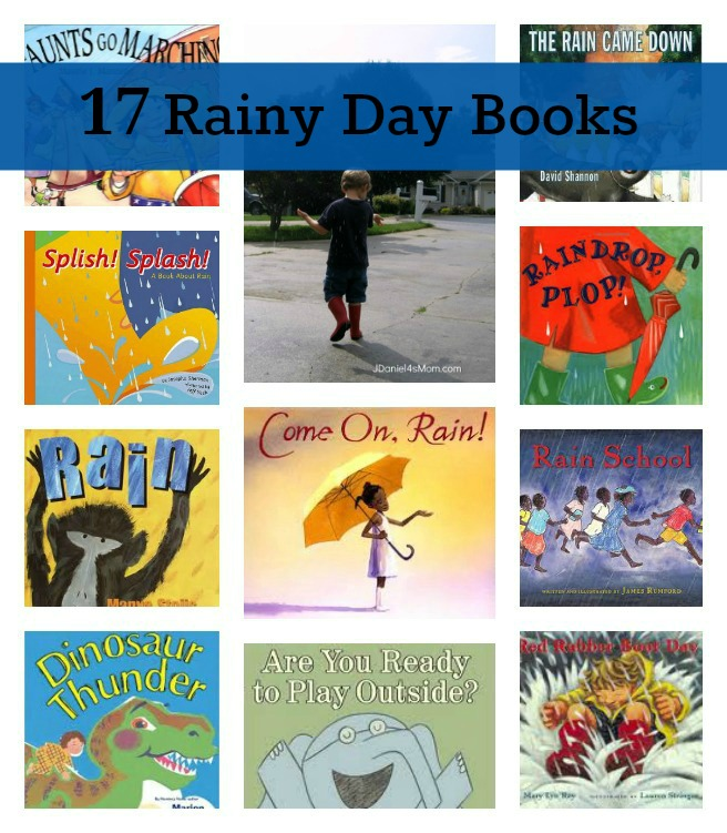 17 Rainy Day Books for Kids