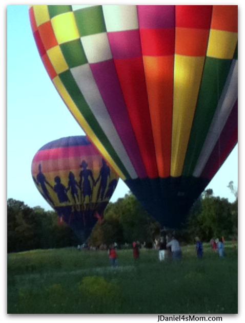 Memorial Day Balloon Chasing 2013
