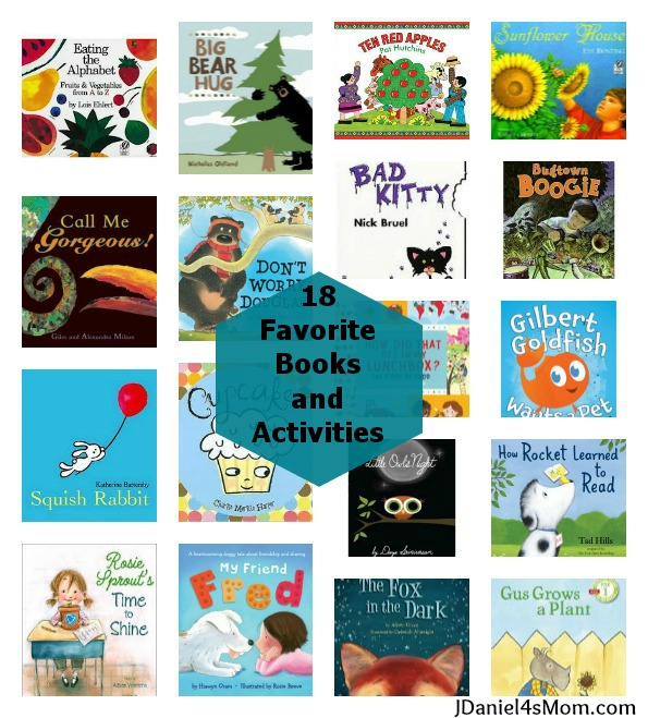 {Children's Book Week} 18 Favorite Books and Activities