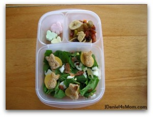 21 Bloggers Share Salad Lunches For Kids