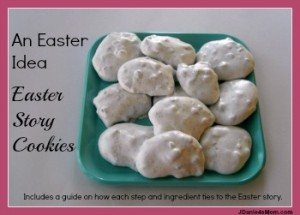 Easter Idea- Easter Story Cookies