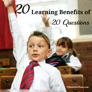 20 Learning Benefits of 20 Questions