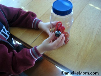 {Science Activity for Kids} Magnetic Heart Jar
