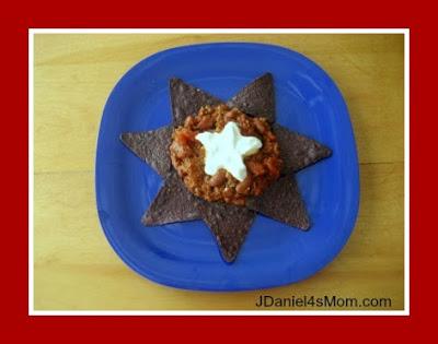 Chili Recipe with Patriotic Colors