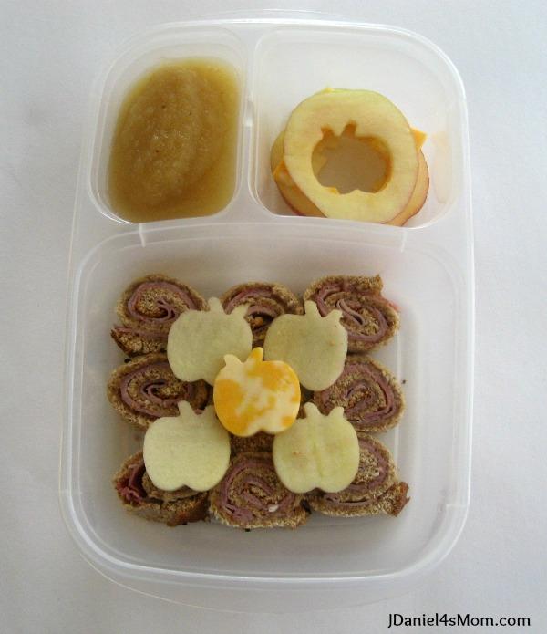 Kids Lunch Apple of My Eye Sandwich Sushi