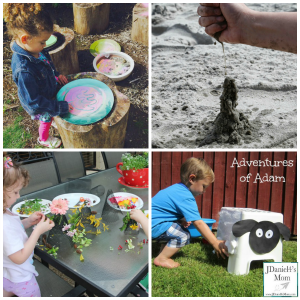 Kids Outdoor Fine Motor Fun