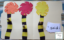 Lorax Truffula Tree Sight Words Game