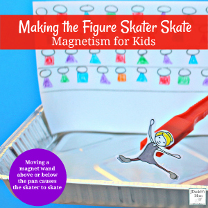Magnetism for Kids- Making a Figure Skater Skate