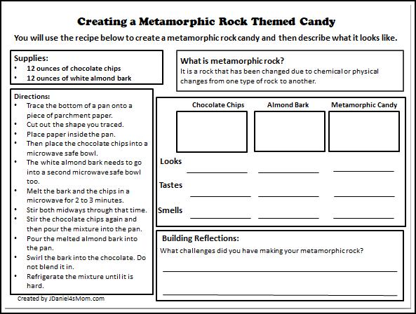 rocks Archives JDaniel4s Mom – Metamorphic Rocks Worksheet