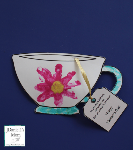 Teapot Craft For Mothers Day