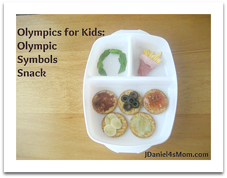 Olympics for Kids- Olympic Symbols Bento Snack