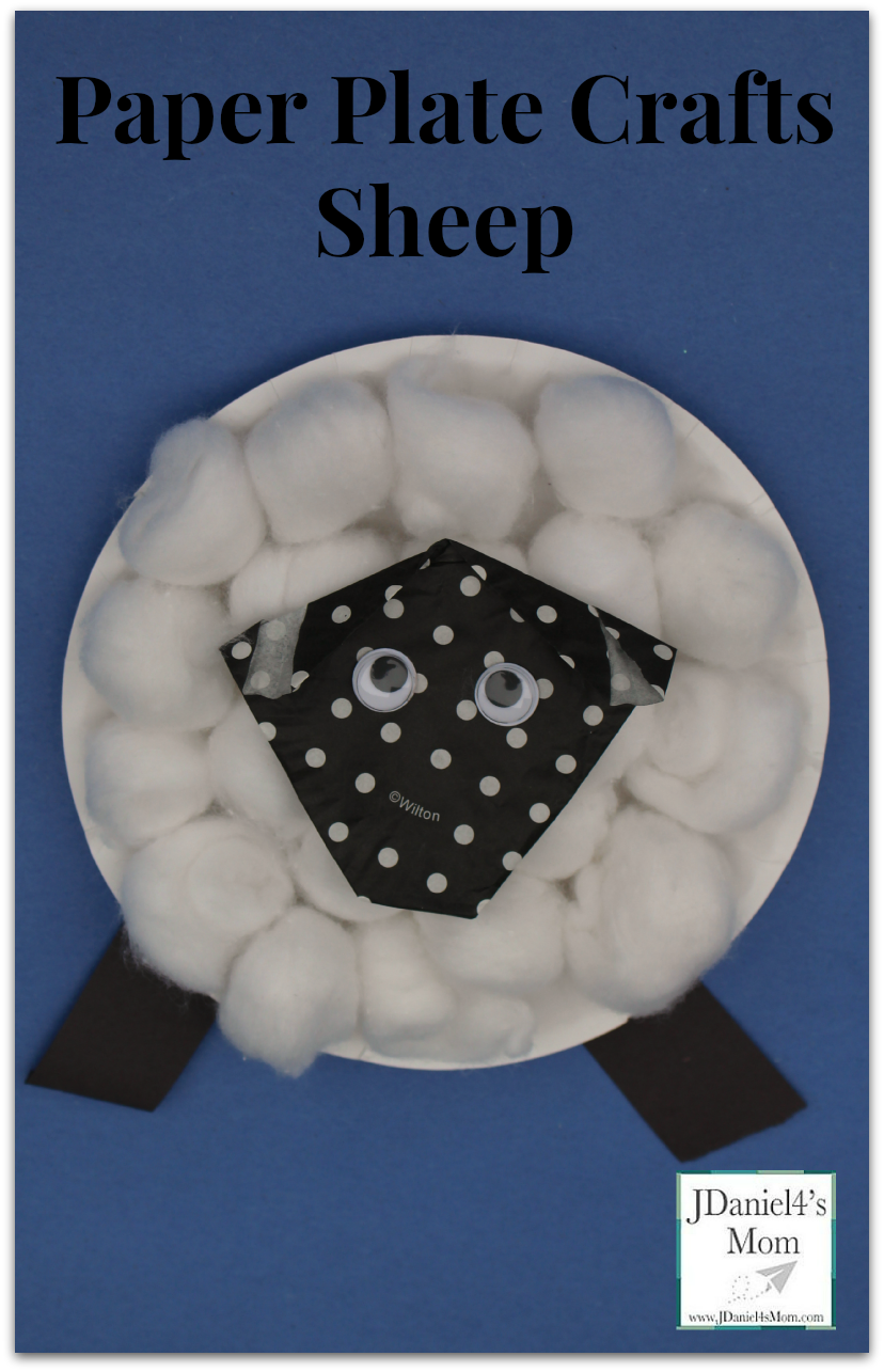 Paper Plate Crafts for Kids- Sheep