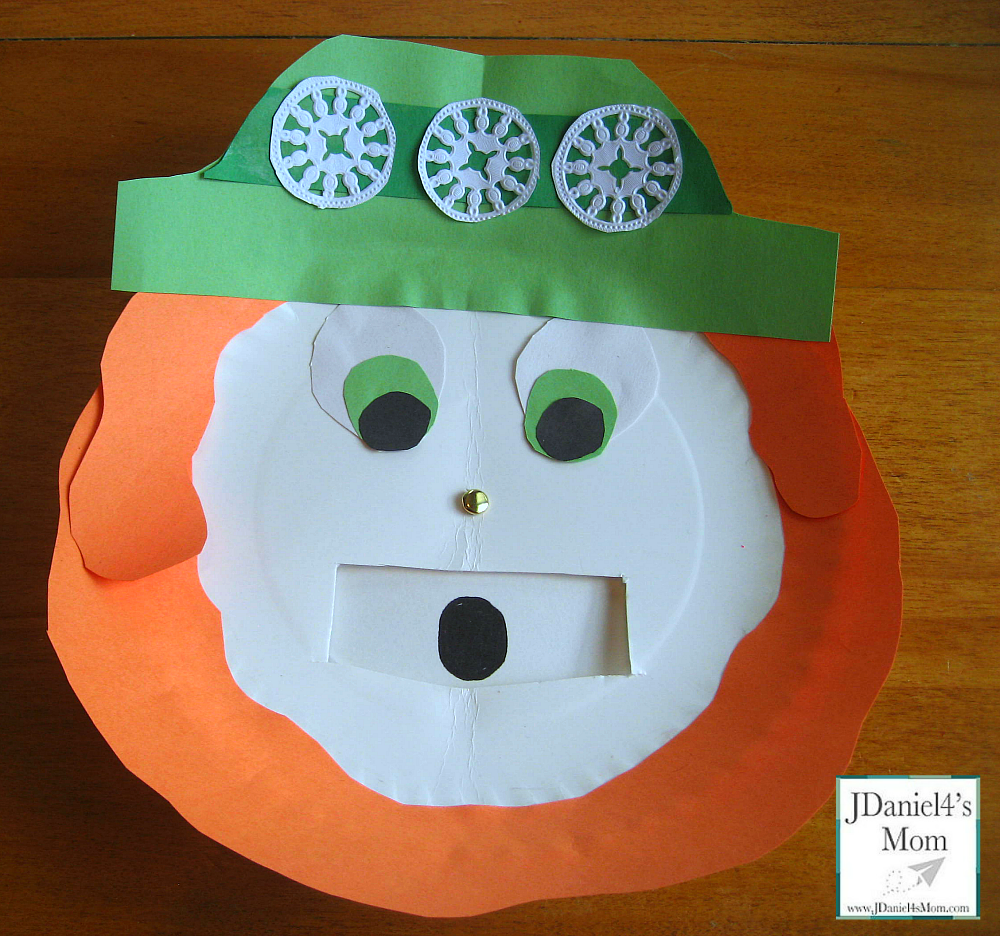St. Patrick's Day Crafts- Leprechaun with Changing Feelings