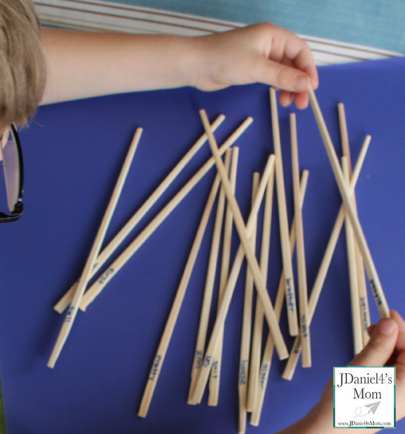 Pick Up Sticks Sight Word Games