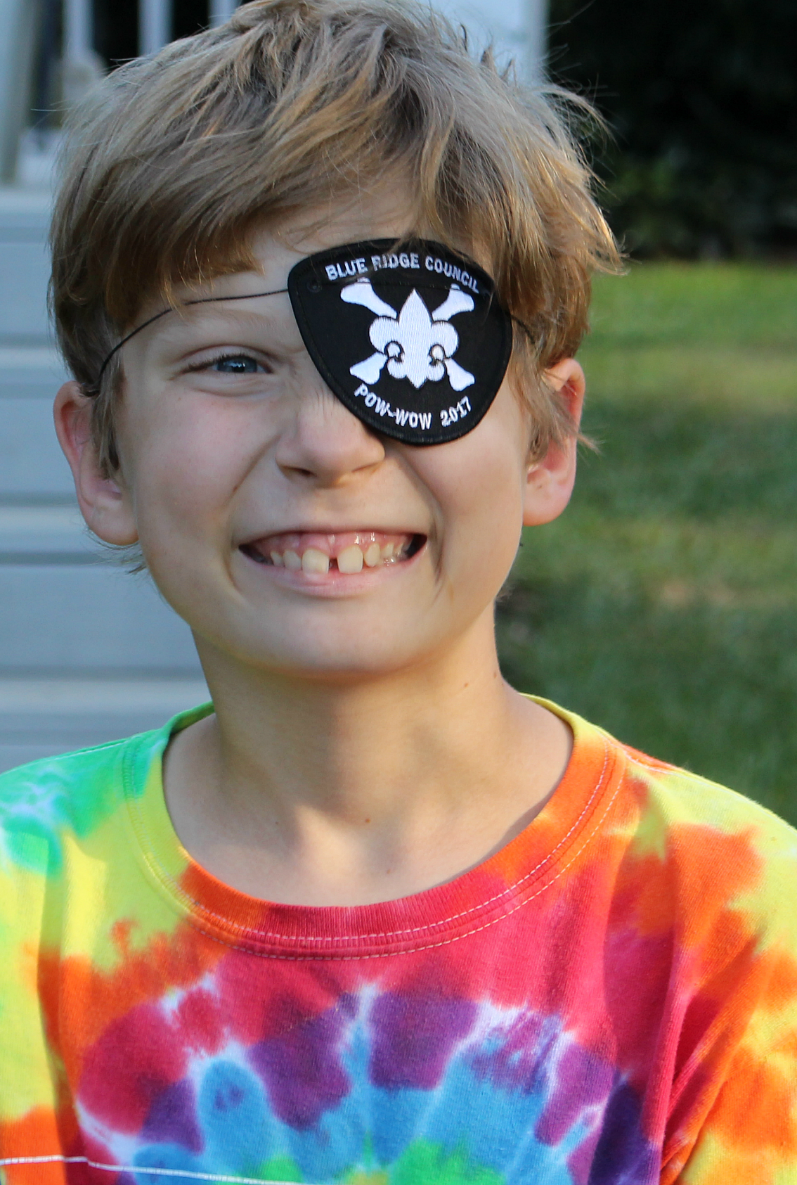 Why Did Pirates Wear Eye Patches Experiment - Out in the Sun