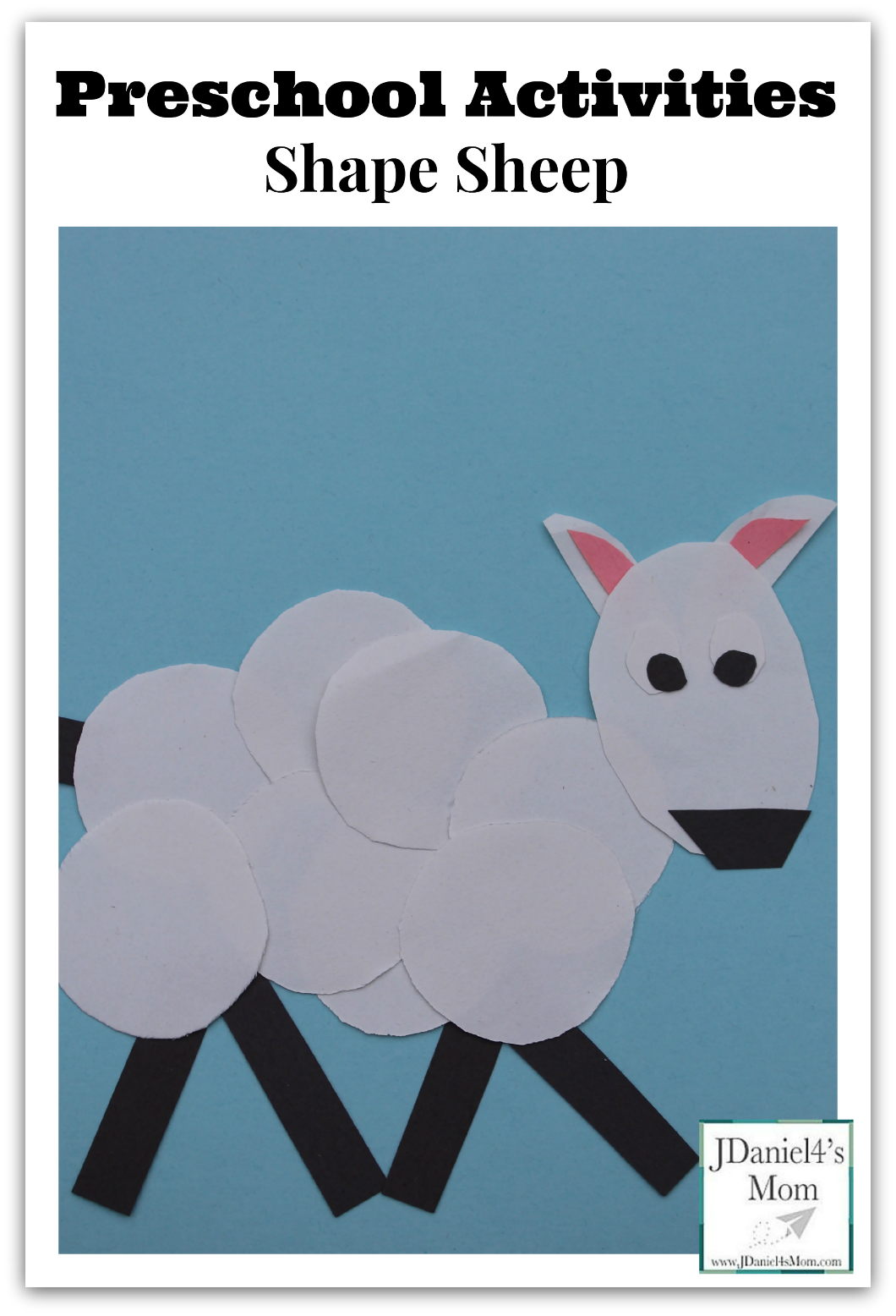 Preschool Activities- Shape Sheep