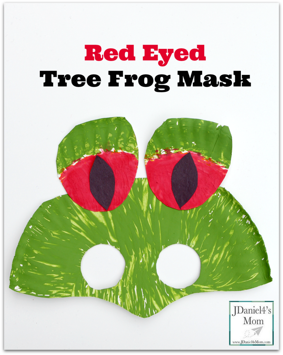 Red Eyed Tree Frog Mask