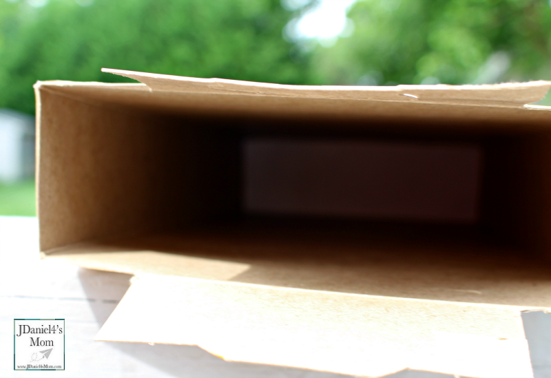 Eclipse Viewer - Camera Obscura Made from a Cereal Box (Adding the Screen)