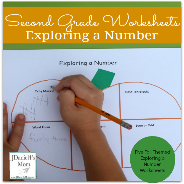 second grade worksheets exploring a number ( Facebook)