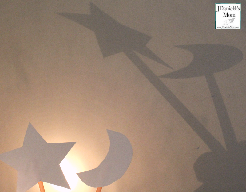 Exploring the World of Shadows with Shadow Puppets - Moon and Star Crafted Shadow Puppets