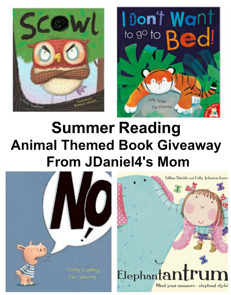 Summer Reading- Animals Themed Book Giveaway