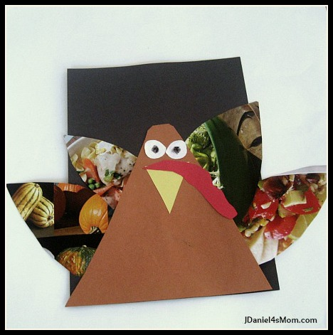 Turkey Craft and a Thanksgiving Book