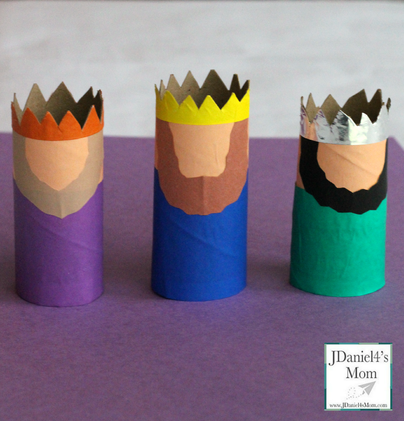 Three Kings Craft For Kids