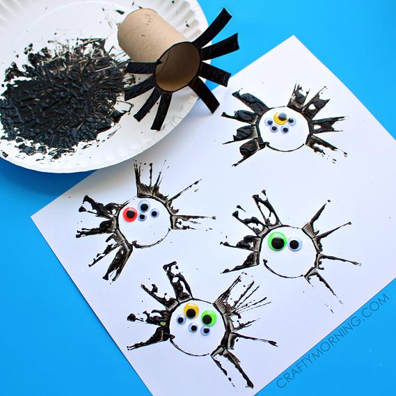 Preschool Spider Crafts for Kids